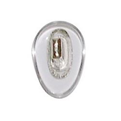 Plaquettes PVC 12mm symétrique 100 paires clip