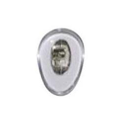 Plaquettes PVC 12mm symétrique 100 paires vis