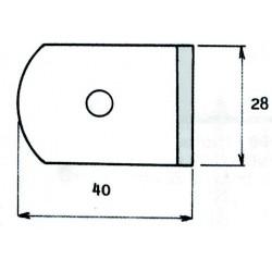 Films pour verre traités 40x28