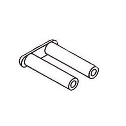 Douilles / Cavaliers débouchants - Long. : 3.1 mm - ø 1.4mm