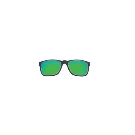 Face relevable polarisée miroir vert