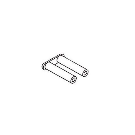 Douilles / Cavaliers - Long. : 7.4mm - ø 1.4mm