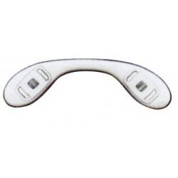Plaquettes jumelées silicone 30.3mm 5 paires clip