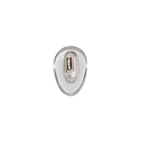 Plaquettes PVC 12mm symétrique 100 paires clip - PRIX NET