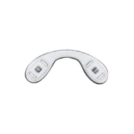 Plaquettes jumelées silicone 23.3mm 5 paires clip