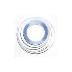 Gaine rétractable à plat 5mm- Cristal  ø 3.2mm