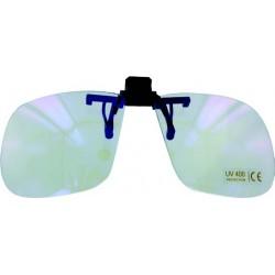 Face relevable de protection contre la lumière bleue