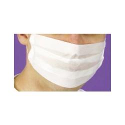 Masques en papier blanc