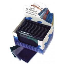 Tissus de nettoyage en microfibre ourlé