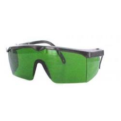 Lunettes de protection verte