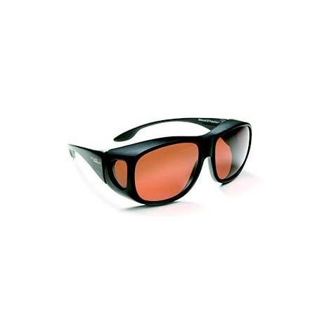 e4f6a795b7757f Surlunette de protection solaire ambrée Polarisée - Oftal