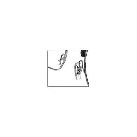 Plaquette lunette Ray-ban en silicone avec fixation support en croix