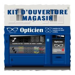 Kit d'ouverture pour magasin d'optique