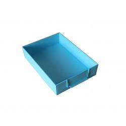 Péniche bleu turquoise