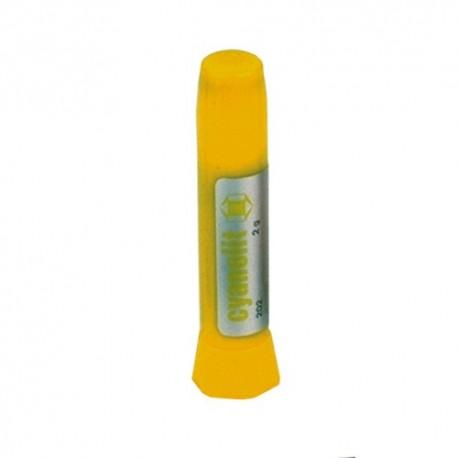 Colle au cyanoacrylate - Prise lente