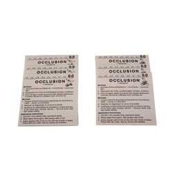 Feuilles d'occlusion 0.8 sachet de 3 feuilles identiques