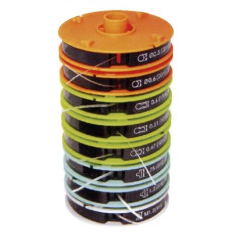 Assortiment de 8 fils nylon
