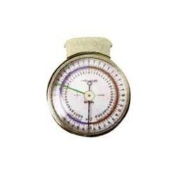 Sphéromètre avec pointes en saphir et aiguilles de mémorisation
