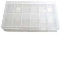 Boite de rangement plastique 12 cases