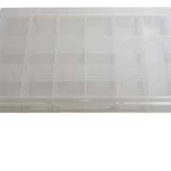 Boite de rangement plastique 18 cases
