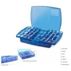 Boite de rangement pour composants 72 cases